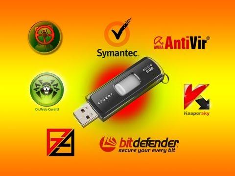 AIO Multi Antivirus Rescue USB Flash Drive by Britec