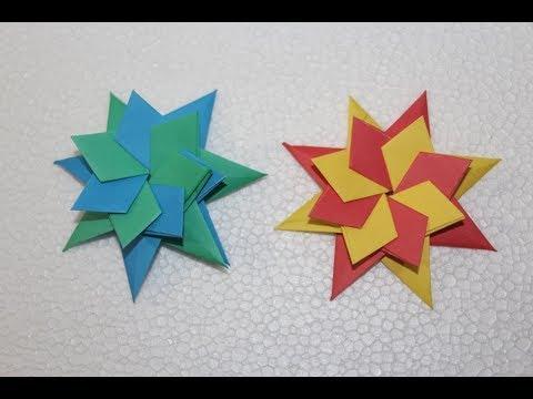 Modular Origami Star - Step By Step Tutorial