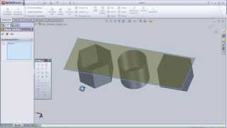 10- SolidWorks Surface TUTORIAL: PLANNER SURFACE