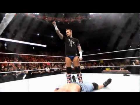 2006-2011: WWE CM Punk 1st Theme Song: This Fire Burns HD +...