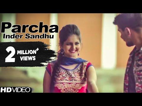Parcha | Inder Sandhu | Latest Punjabi Song 2015