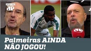 """""""O Palmeiras DÁ SONO! Ainda NÃO JOGOU em 2019!"""", disparam jornalistas"""