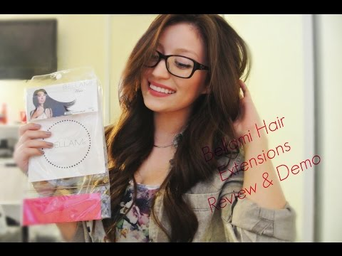 Bellami Hair Extensions Review & Demo (18-inch Piccolina hair)