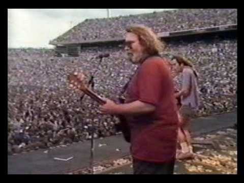 Grateful Dead Open 2nd Set with Cold, Rain and Snow