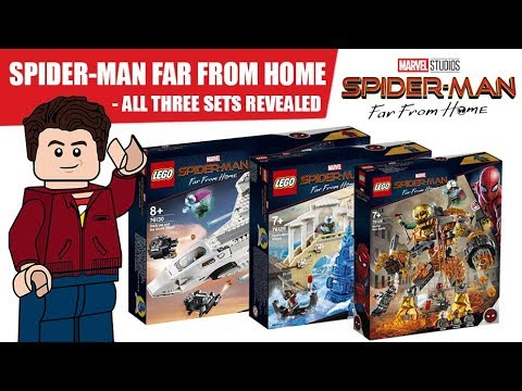 ALL LEGO Spider-Man Far From Home Sets Revealed