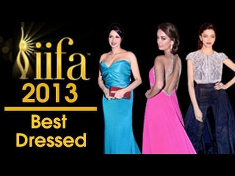 Best Dressed at IIFA Awards 2013