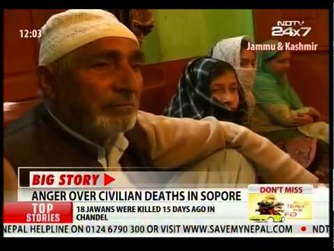 Anger over Civilian Deaths in Sopore