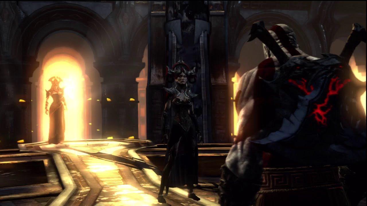 God of war ascension alecto