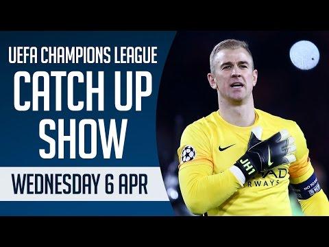 UEFA Champions League Catch Up inc Paris Saint-Germain 2-2 Manchester City