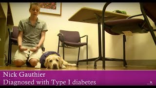 Service Dog Helps Teen Manage His Type 1 Diabetes