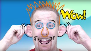 Head Shoulders Knees and Toes | Clap your Hands | English For Children | Kids and ESL Songs
