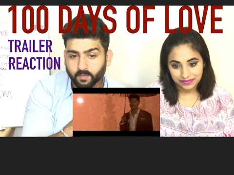 100 Days of Love Trailer Reaction | Dulquer Salmaan and Nithya Menen | by RajDeep