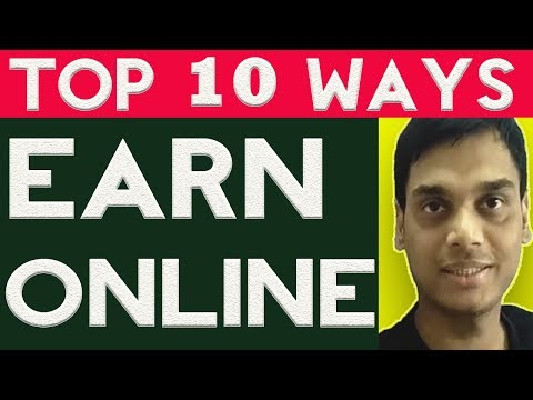 Top 10 genuine ways to make money online 2017 | Without investment | My opinion | Hindi