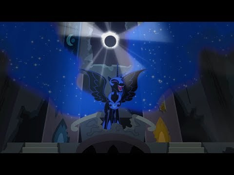 Luna's Nightmare Moon Transformation - My Little Pony: Friendship Is Magic - Season 4