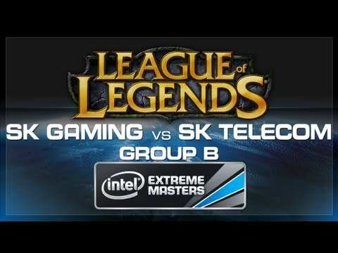 SK Gaming vs SK Telecom - LoL (Group B) - IEM World Championship 2013