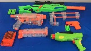 Box of Toys Toy Guns NERF Guns Mod Non NERF Sniper