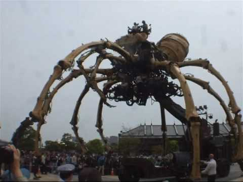La Machine -Giant Spiders- in Yokohama / Apr.18,2009