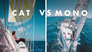 What is The Best Sailboat? Part 2: Comfort & Safety || CATAMARAN vs MONOHULL