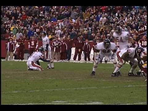 Washington Redskins against the Bears game recap from Dec 23, 2001