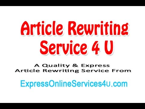 Rewriting service