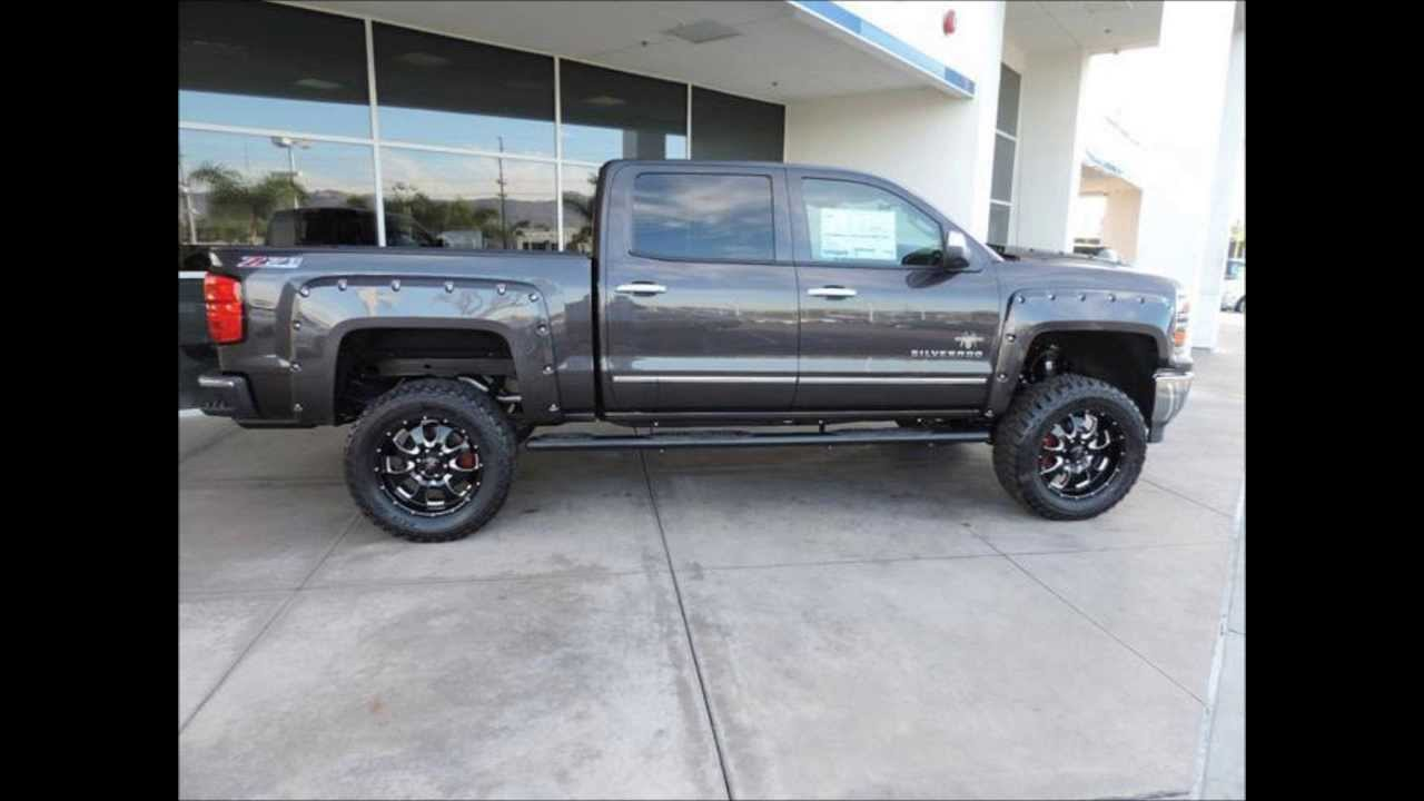 New Lifted 2014 Chevy Silverado 1500 Ltz Southern Comfort