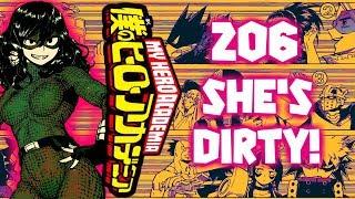 SHE'S DIRTY! Tokage Setsuna | My Hero Academia Chapter 206 Review