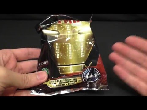 Iron Man 3 Hall Of Armor Blind Bags Opening Preziosi Collection #2 [Ahra Sbusta]