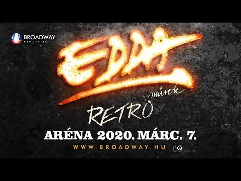 EDDA MŰVEK - ARÉNA KONCERT | 2020. március 7. - Papp László Budapest Sportaréna