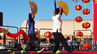 Tai Chi Fan Lunar New Year Festival At La Waterfront