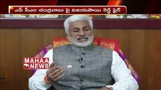 Vijaya Sai Reddy comments on AP CM Chandrababu mental condition  - netivaarthalu.com