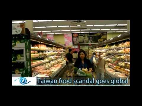 Taiwan food scandal spreads abroad