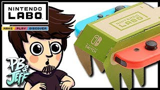 Nintendo Labo | RC Car Unboxing/Assembly (Part 1) - PB&Jeff