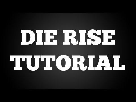 DIE RISE : How To Make The Navcard Machine