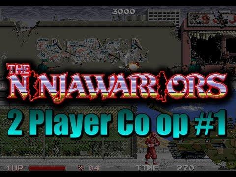 Ninja Warriors Arcade Co op Pt 1