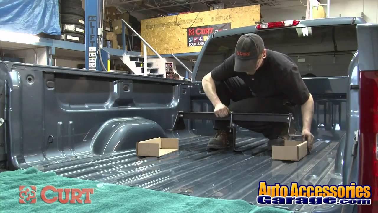 Curt Gooseneck Hitch Installation Youtube