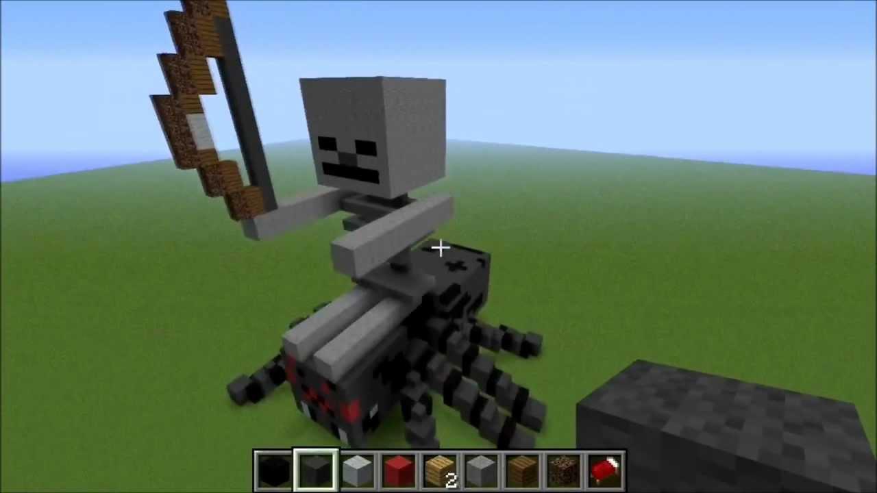 Spider Statue Minecraft Minecraft - Spider Jokey