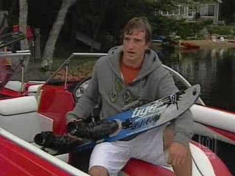 NH Man Holds Water-Skiing Record Video