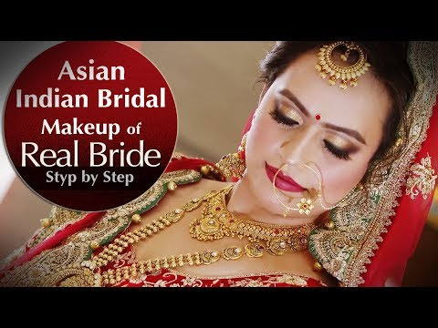 Real Indian Asian Bridal Makeup Tutorial | Step by Step Bridal Makeup Tutorial | Krushhh By Konica