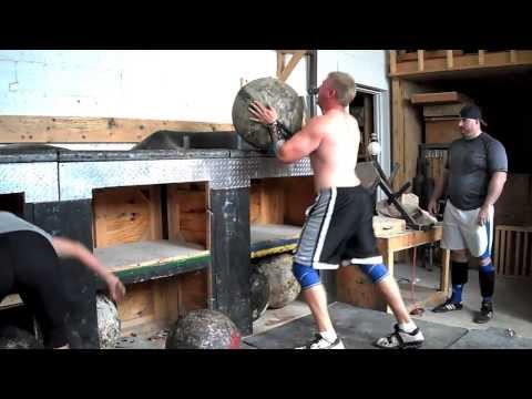 Strongman National Championship Training Highlights 2013 Image 1