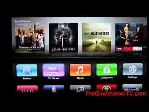 review android tv box Apple TV 3rd Generation 1080p  Unboxing & Demo new new