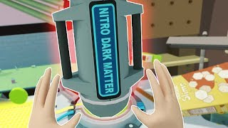 JUMBO SIZING A DARK MATTER BOMB! - Rick and Morty Virtual Rick-ality VR 2018 Gameplay
