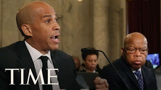 Senator Cory Booker Opposes Jeff Sessions As Attorney General | TIME