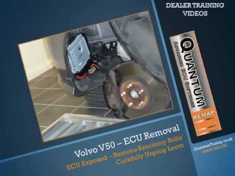 Volvo V50 ECU Removal & Opening - YouTube