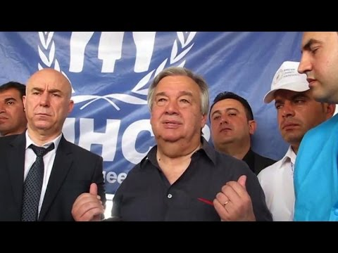 UN refugee chief: World should help 'generous' Kurdistan