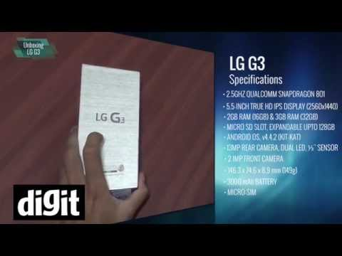 LG G3 - Unboxing