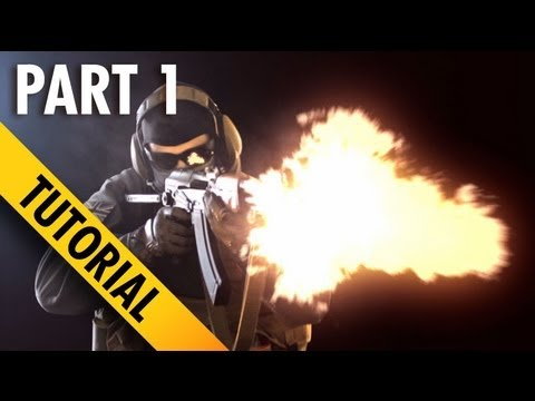 how to create a muzzle flash