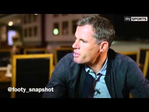 Jamie Carragher interviews Steven Gerrard
