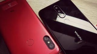 Nokia 5.1 PLUS vs Redmi 6 Pro Special Edition Red Colour