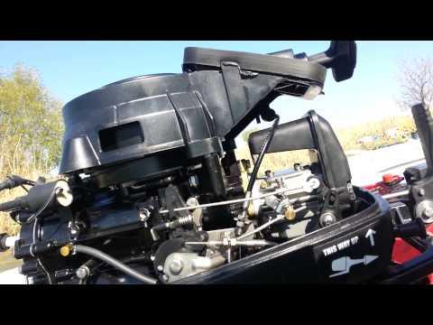 устройство лодочного мотора hidea