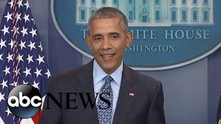 President Obama Final Press Conference of His Presidency: Full Presser | ABC News